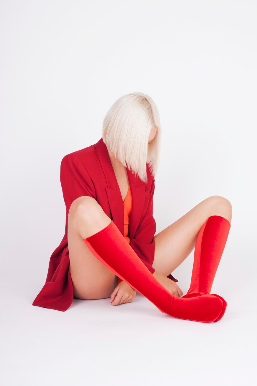 Velvet Knee Sock's Fire Red#MG_6127.jpg
