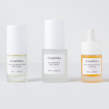 Skincare Routine - Travel Size (Combination to Oily and Mature Skin)#muskat.jpg