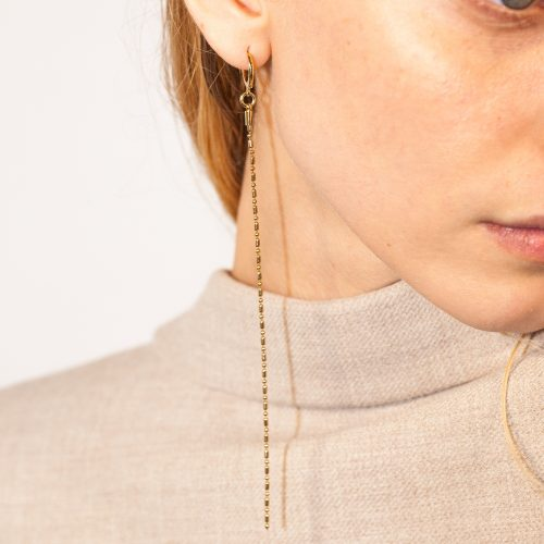 Medium Thin Chain Simple Earring#domestique-MEDIUM-THIN-CHAIN-SIMPLE-EARRING-Gold.jpg